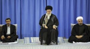 khamenei rouhani ahmadinejad