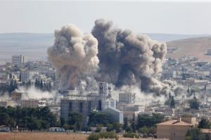 Kobane airstrikes